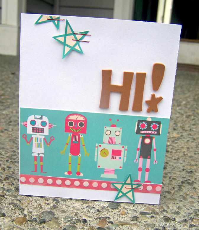 My Little Shoebox CHA (Hi! card)