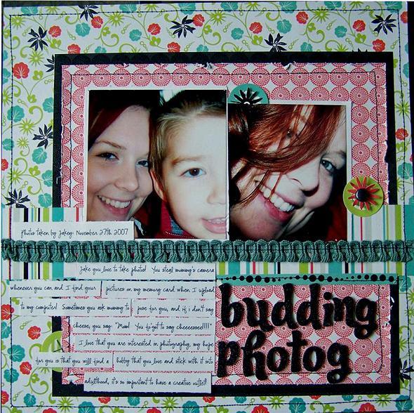 Budding Photog