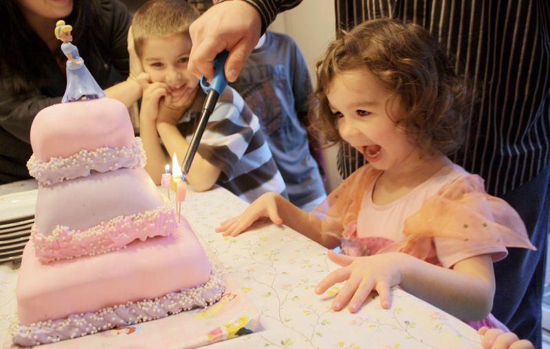 Lily's Birthday 9